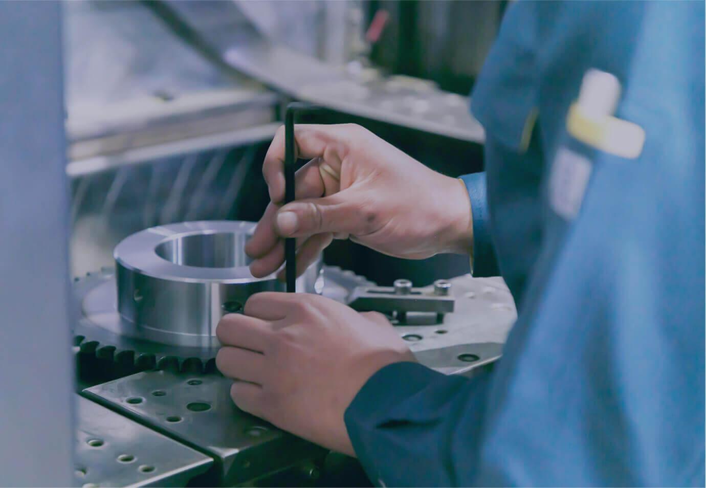 動力伝導部品製造のプロフェッショナル